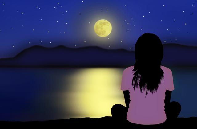 願い事 満月